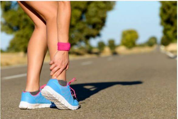 how to cure a sprained ankle fast